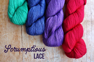 Fyberspates - Scrumptious Lace