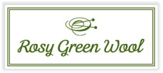 Rosy Green Wool Logo