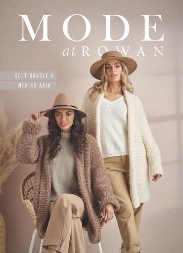 MODE at ROWAN - Soft Boucle und Merino Aria
